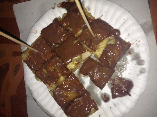 Pancake Man: Nutella and banana- amazing!