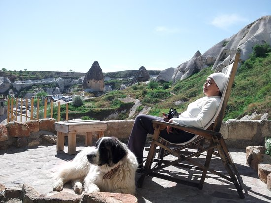 Fairy Chimney Inn: My retirement dream, a dog and a cave.