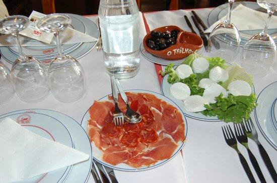 Restaurante O Trilho: antipasto
