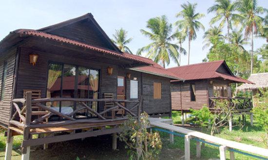 Mook Lanta Resort: Family Garden Villa
