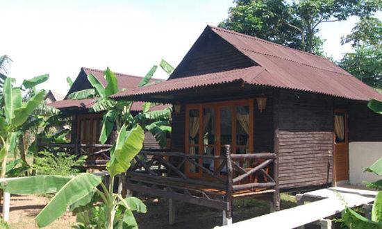 Mook Lanta Resort: Garden Air Con Villa