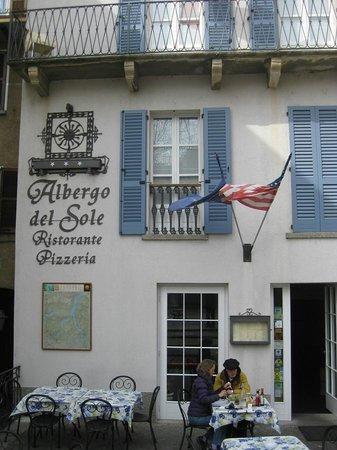 Albergo Del Sole: Exterior facade