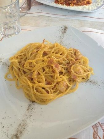 Caffe Bellini: Spaghetti Carbonara