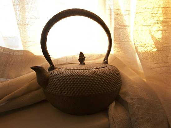A traditional Japanese teapot on show at The Australasian