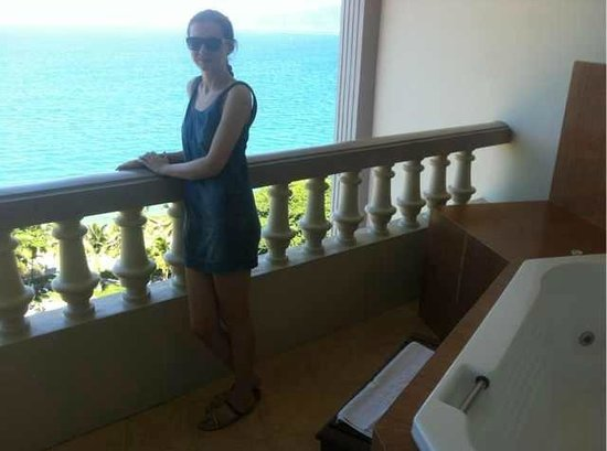 Sunrise Nha Trang Beach Hotel & Spa: Балкон
