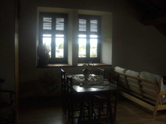 Villa Azucena: Salon, comedor y cocina privados