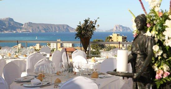 Hotel Sun Palace Albir Lounge & Spa: vistas