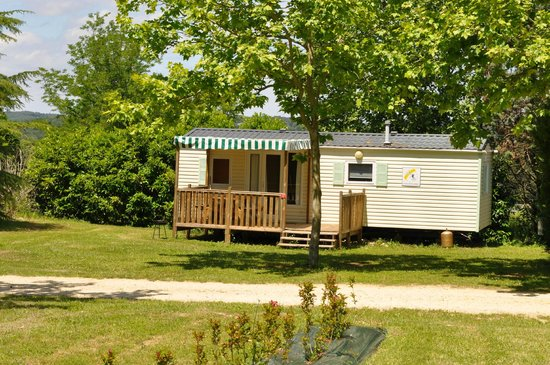 Camping Puynadal : Camping Dordogne Brantome Location Mobilhome