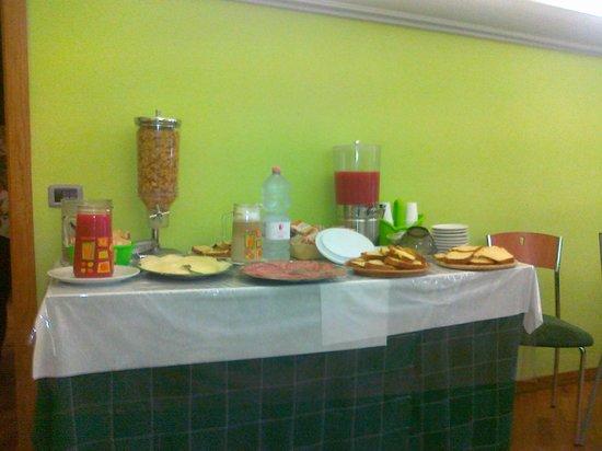 Villa Redenta: colazione