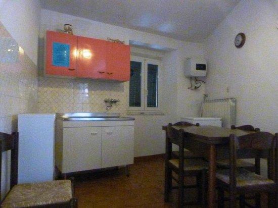 Hotel Villa Argentina: kitchen
