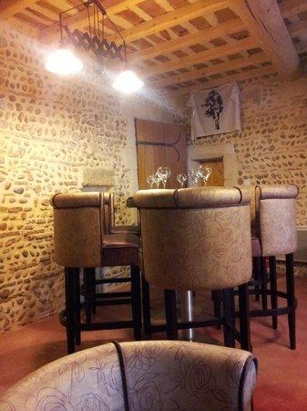 Chalet Le Braconnier: salle ou nous déjeunions