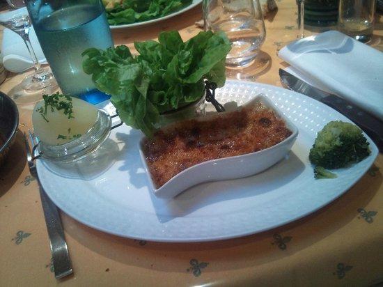 Chalet Le Braconnier: La cassolette de poisson