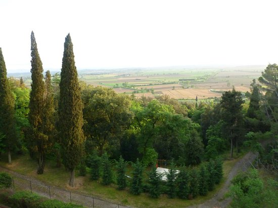 Villa Schiatti: Prärie