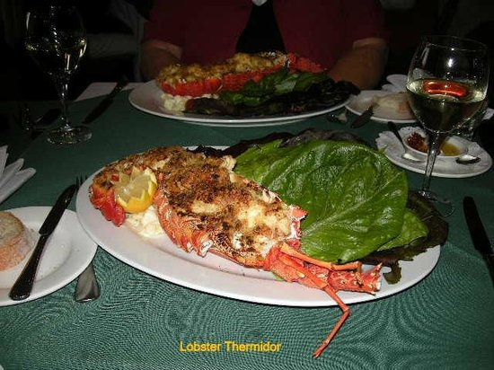 Enzo's Ristorante: Lobster Thermidor to order