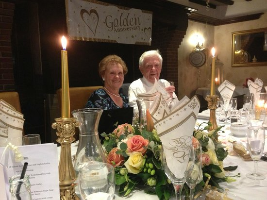 Mannings Heath Golf Club: The Couple of the night!