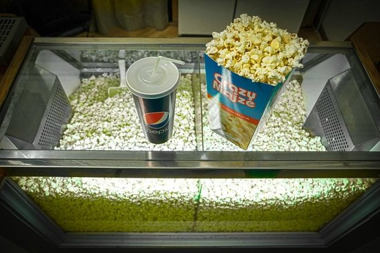 Silver Screen Cinema: Refreshments available from our Kiosk.