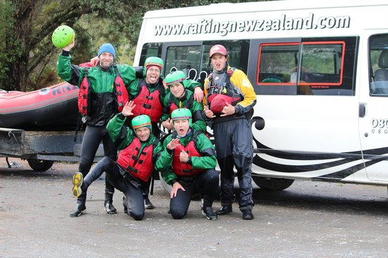 Rafting New Zealand: More Cheese