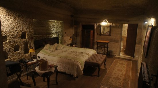 Terra Cave Hotel: my room