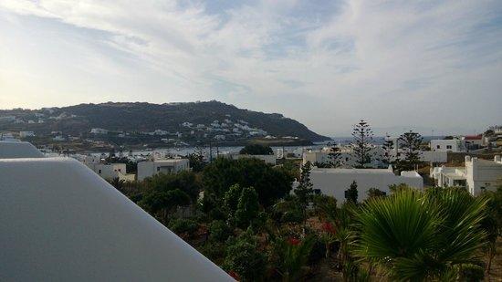 Yiannaki Hotel: Balcony view