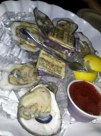The Beached Whale: Oysters