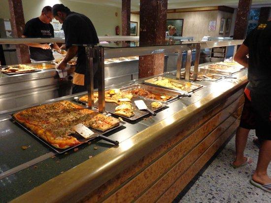 Hotel Clipper: Le buffet le soir