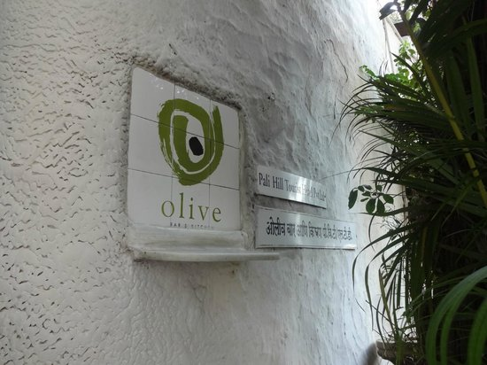 Olive Bar & Kitchen : Olive Entrance