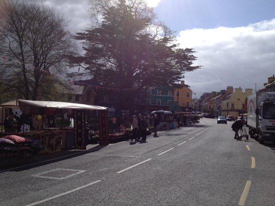 Davitts Kenmare Guesthouse : market day each Wednesday
