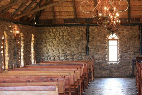 Rain Farm Game and Lodge : Inside the Chapel