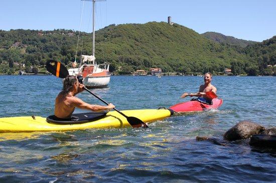 Casa Francisca B&B: gita in kayak