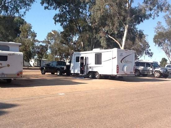 Discovery Parks – Port Augusta: Easy for large vans