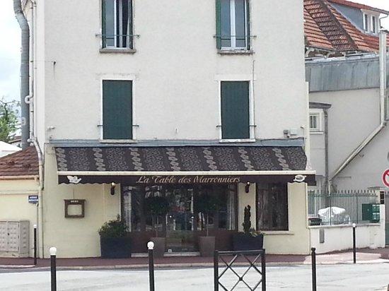 La Table Des Marronniers Picture Of La Table Des Marronniers