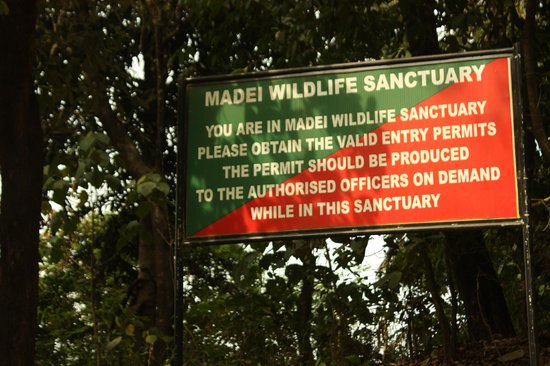 Sanguem, India: Entering Madei Sanctuary