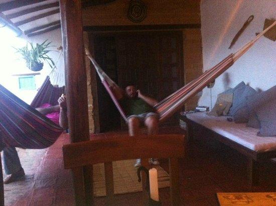 El Carambolo: Zona de relax