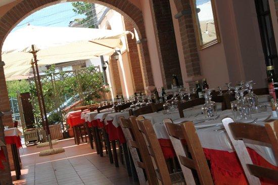 La Mangiatoia: portico