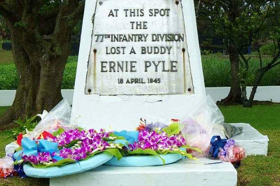 Ie Village Juvenile Expedition Village : Ernie Pyle Monument