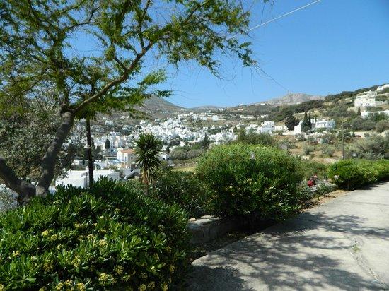 Studio Calypso: View of the beautiful village Lefkes
