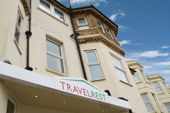 TravelRest Hotel Bournemouth: Hotel Exterior