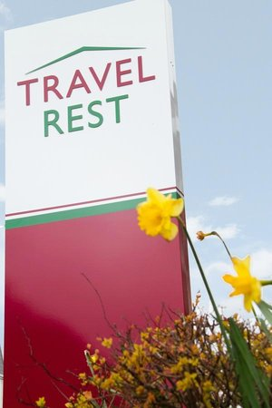 TravelRest Hotel Bournemouth: Hotel Sign
