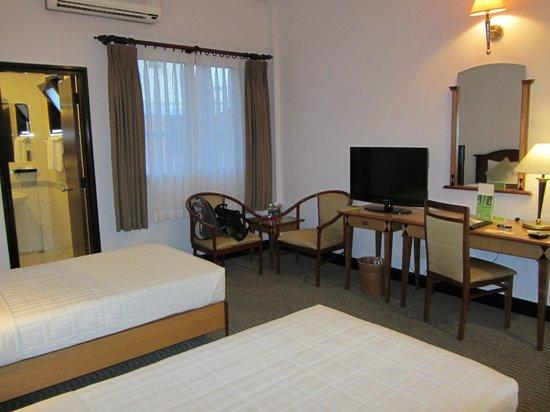 Liberty Hotel Saigon Parkview: Doppelzimmer