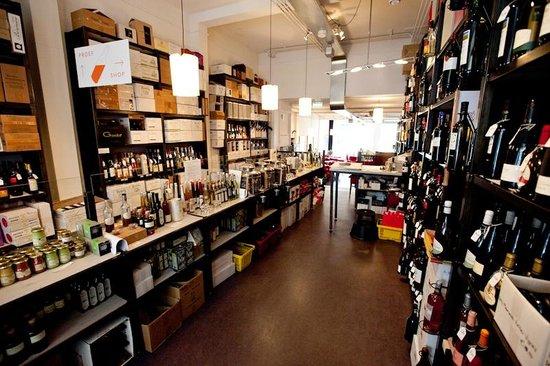 De wijnwinkel van Rood, wit & rosé