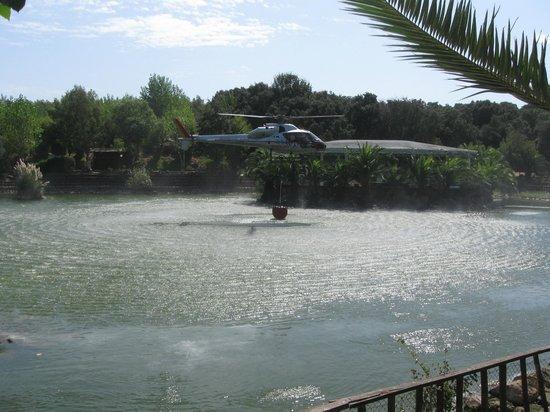 Aprilia, Italia: Il Lago..