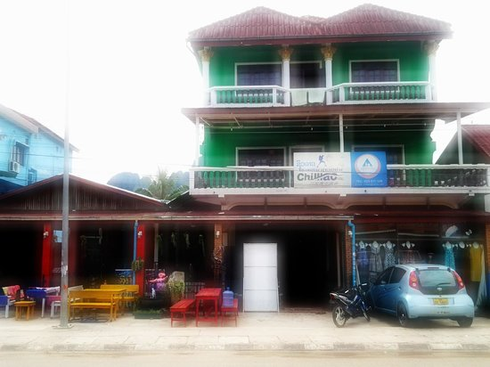 Chilllao Youth Hostel Guesthouse: From outside