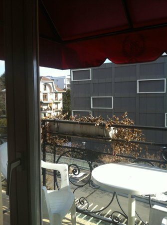 Carlton Lausanne Boutique Hotel : view