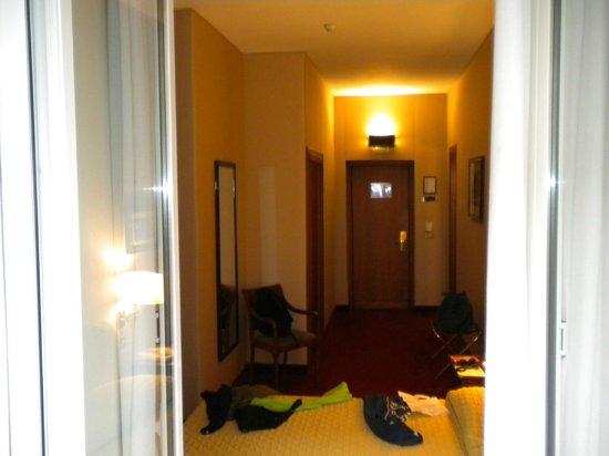 Domus Aventina : chambre 23 depuis le balcon