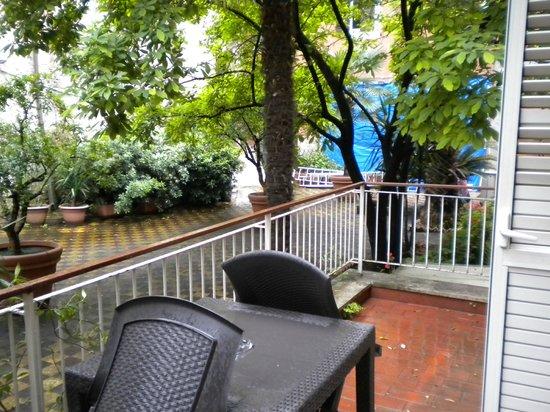 Domus Aventina : chambre 23 balcon