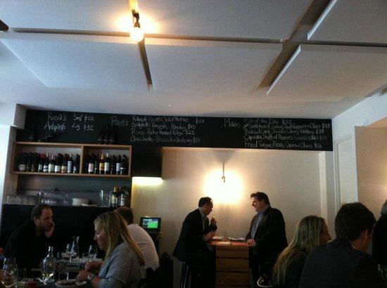 Rosa's Kitchen: the menu