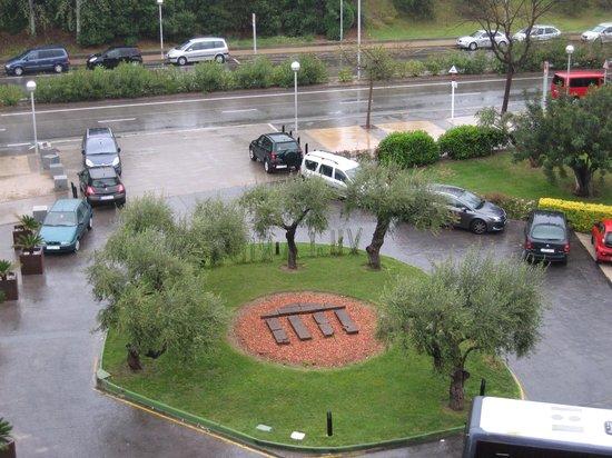 Ohtels Vil.la Romana: It rained