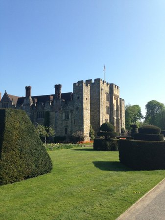 Hever Castle Bed and Breakfast: Grounds