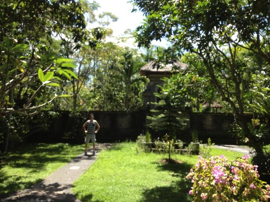Alam Shanti: the massive private garden
