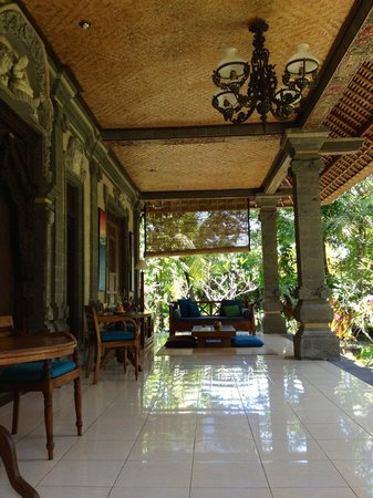 Alam Shanti: the verandah! wow